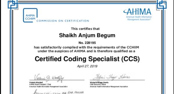 Anjum CCS